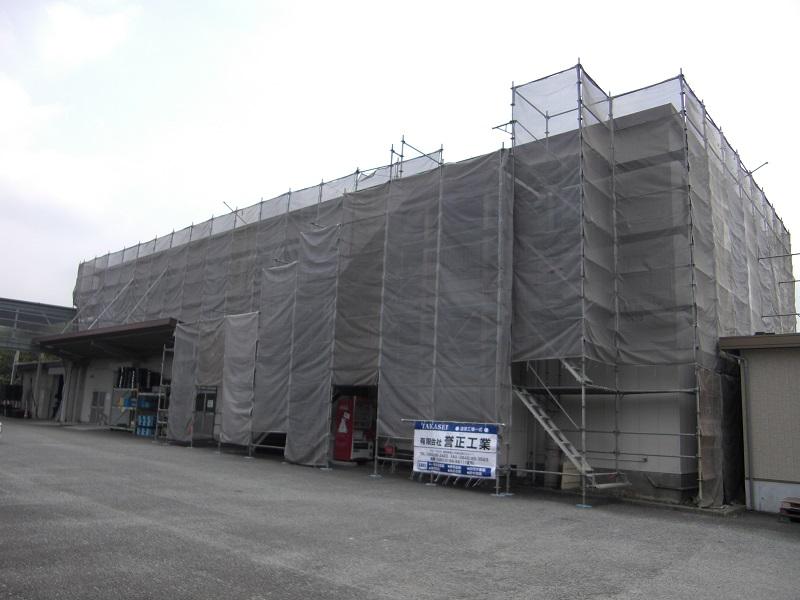 案件名:2018 F会社 塗装工事用足場 基本情報:平成30年5月 静岡県