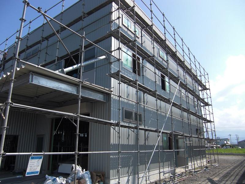 案件名:2018 R倉庫新築工事  基本情報:平成30年6月 静岡県